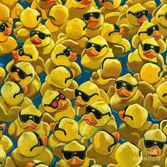 13ee19519 Resultado de imagen de Rubber Duck paintings Kačky, Kermit, Umelecké Remeslá