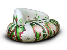Upholstered Fabric Sofa With Removable Cover Babà Babà Line By Rossi Di  Albizzate | Design PIO