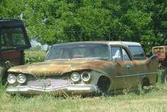 1960 Plymouth 2-door wagon