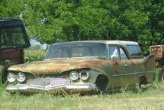 1960 Plymouth 2-door wagon