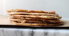Spelt Flour Flat Bread by thehonoursystem #Flat_Bread #Spelt