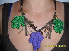 Foto di Vivastreet.it collane creazioni uniche Crochet Necklace, My Love, Products, Fashion, Moda, Fashion Styles, Fashion Illustrations, Gadget