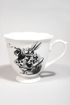 Large Alice mug from Urban Outfitters. Would be perfect for coffee or tea when I work from home.  £15