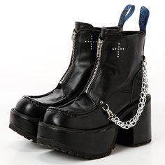 ブーツ(ジッパーデザインショートブーツ)   ヨースケ(YOYOブランド)(YOSUKE YOYO Brand)   ファッション通販 マルイウェブチャネル[WW728-615-02-01]