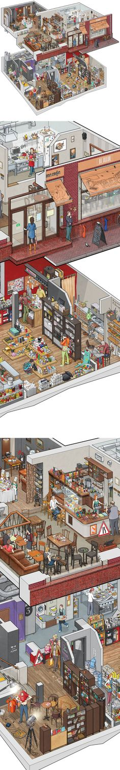 Схема большого кафе Студии Артемия Лебедева. http://www.artlebedev.ru/everything/als/bankovsky-poster/