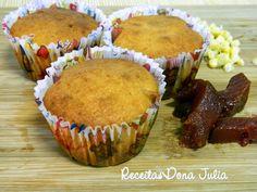 #bomdia #receita #receitasdonajulia #food #foodblogger #yummy RECEITAS DONA JULIA - Blog de Culinária Gastronomia e Receitas.: BOLINHO DE MILHO COM GOIABADA