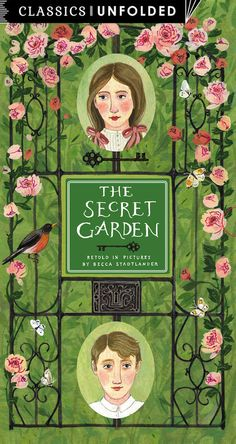 The Secret Garden Unfolded: Retold in pictures by Becca Stadtlander - See the world's greatest stories unfold in 14 scenes (Classics Unfolded) - How To Books Book Cover Art, Book Cover Design, Book Art, Secret Garden Book, Buch Design, Beautiful Book Covers, Fantasy, Book Illustration, Love Book