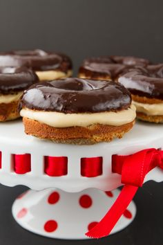 Boston Cream Donuts (Gluten-free and Paleo) i'm definitely craving some sweets today...