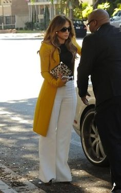 9a84eeb6a2a In love white the yellow coat! Love Fashion