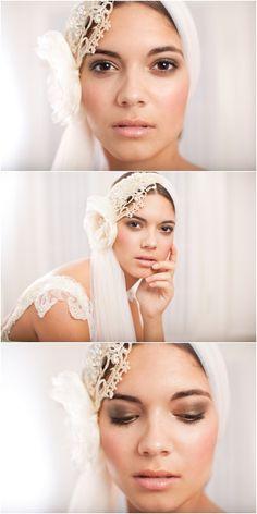 French Veil Bridal Hair Accessory by Jannie Baltzer