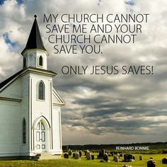 Only Jesus saves