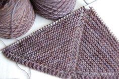 tricoter un chale facile                                                       …