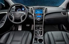(4. Hyundai Elantra Interior) 2014 Best Compact New Cars Under $20000 - Top 5