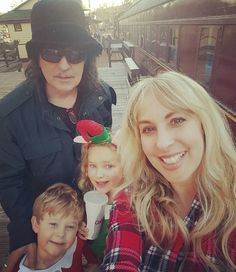 Blackmore Family via Candice Night Instagram  Ritchie, Candice, Autumn and Rory