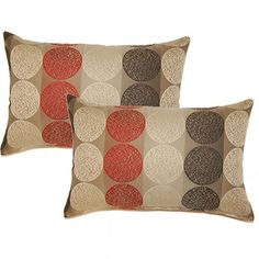 Kenzo Rocket 12.5-in Throw Pillows (Set of 2)   Overstock.com Shopping - The Best Deals on Throw Pillows