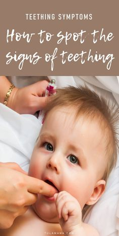 Do you have a cranky baby on your hands? Know how to quickly spot the teething symptoms. Pin it. #teething #teethingbaby Teething Signs, Teething Symptoms, Step Parenting, Parenting Hacks, Baby Tips, Baby Hacks, Challenges To Do, Single Mum