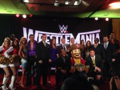 WWE & 49ers Super Bowl Committee announce that WrestleMania 31 will take place at Levi's Stadium in Santa Clara in March, 2015!