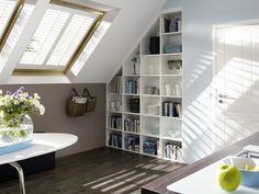 Shutters - stijlvolle raamdecoratie met een exclusieve uitstraling. Geschikt als dakraam oplossing