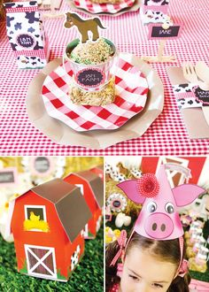 Kids Farm Animal Barnyard Party {Joint Birthday}