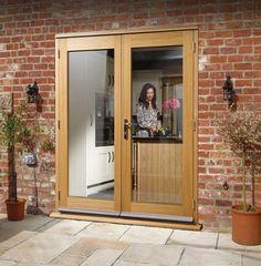 La Porte Oak External French Door Set (prefinished) #externaldoors