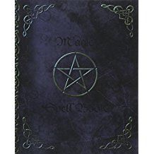 Magic Spell Book: of Shadows/Grimoire (Gifts) [ 90 Blank Attractive Spells Records & more * Paperback Notebook/Journal * Large * Pentacle ] (Magick Gifts)