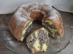Kipróbált és bevált receptek ...: Márványos mákos-almás kuglóf Poppy Seed Cookies, Ring Cake, Savarin, Hungarian Recipes, Sweet And Salty, Bagel, Scones, Cake Recipes, Deserts