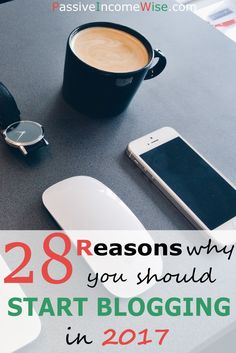 "I'm sure you might be wondering ""Should I also start a blog?""  Of course, I think you should!  Here is a list containing 28 reasons why you should start blogging."