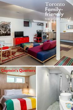Baby and toddler-friendly apartment in Toronto for a small family! Don't cram yourselves in a hotel room! Have some breathing room in this modern-styled apartment central to all the fun of Toronto. No car needed!