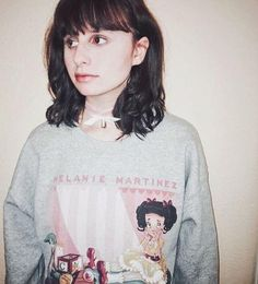 You're one of a kind // Melanie Martinez Bottle Charm Choker & Cry Baby Doll Crewneck Sweatshirt