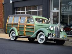 1951 Ford Pilot V8 Woodie .1 of 5 built by Oldland Bodyworks of Bristol. Finished in 1952 for first registration.