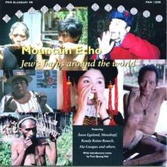 Mountain Echo - Jew's Harps Around the World (2006) - A remarkable collection of Jew's Harp pieces from all over the world. Compiled by Bernard Kleikamp, including a detailed booklet #jewsharp