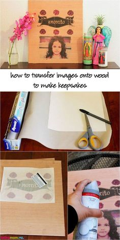 Use a printer and parchment paper to make amazing keepsakes