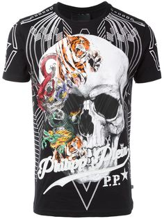 Philipp Plein camiseta Animals