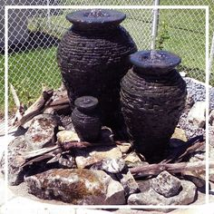 Some Bubbling Urns at the Shady Nook in Stratford. Greatest Hosts in Town.
