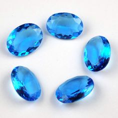 Blue-Topaz-Hydro-Glass-Blue-Topaz-Blue-Topaz-Blue-Topaz-Glass-Gemstone-18x24mm  #raagarw