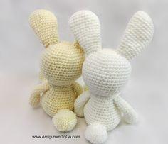 Mesmerizing Crochet an Amigurumi Rabbit Ideas. Lovely Crochet an Amigurumi Rabbit Ideas. Baby Cardigan Knitting Pattern Free, Crochet Bunny Pattern, Crochet Rabbit, Crochet Patterns Amigurumi, Crochet Baby Toys, Bear Valentines, Sock Crafts, Stuffed Toys Patterns, Crochet Projects