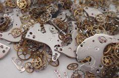 Schritt für Schritt Anleitung: Steampunk Käfer aus Fimo und Zahnrädern selber machen