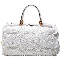 Crochetemoda: Dolce & Gabbana - Bolsas Crochet