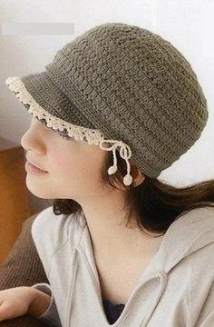 Patrón #1116: Gorro a Ganchillo | CTejidas [Crochet y Dos Agujas]