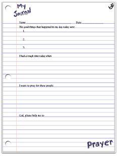 prayer journal template download - Madran kaptanband co