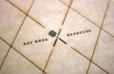 Kay Bros Barbecue   Rebranding + Menu Design by Tanner Glaves