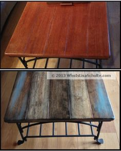 DOING MY TABLE THE COLOR SECOND FROM THE LEFT!!!! Buying supplies this week Post image for How I Distressed & Refinished A $10 Garage Sale Table