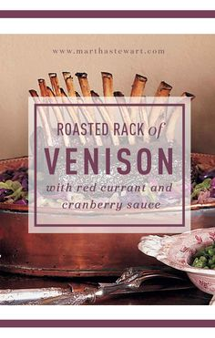 You can also use this recipe to make rack of lamb; choose racks that are about one-and-one-half pounds each, and cook twenty-five to twenty-eight minutes for medium-rare.