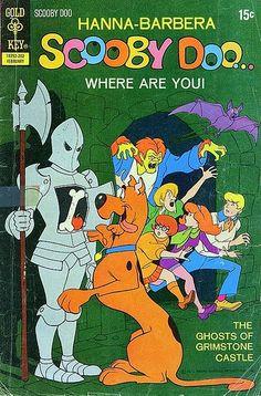Scooby-Doo, el proto-cazafantasmas de la Hanna-Barbera. Scooby-Doo, número 10 de su cómic, publicado en 1971