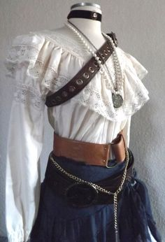 Adult Women's Pirate Halloween Costume by PassionFlowerVintage, $350.00