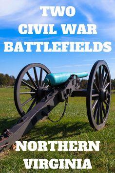 Travel the World: Seeing two Civil War battlefields in one at Manassas National Battlefield Park in Northern Virginia. #Virginia #travel
