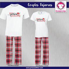 Couples Pajamas | You Are My Person Design | Pressed 4 Fun | Matching Pajamas | Bestie Pajamas