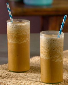 Chicory coffee and sweetened condensed milk make Vietnamese iced coffee distinctively delicious. Half-and-half adds another dimension of indulgence to this shake.