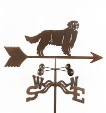 Dog   Golden Retriever Weathervane   Choice Of Mount · Urn PlantersVintage  DogGolden RetrieversGarden Statues