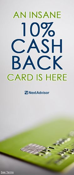 If you're looking for a credit card with a long 0% APR while also offering tremendous cash back rewards then look no further. Pay no interest until 2018 and also enjoy cash back rates up to 10% with jaw-dropping card. Get the scoop at NextAdvisor and start earning today.